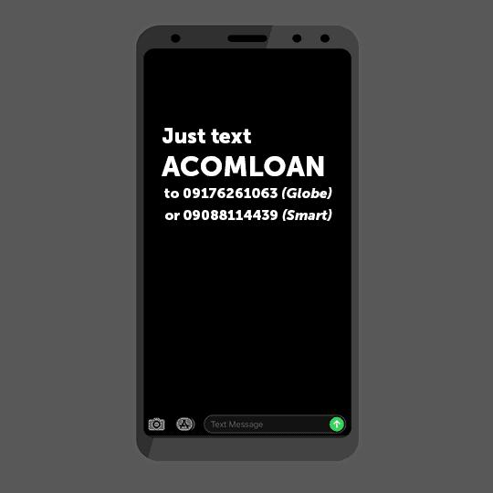 How to use ACOM SMS Service